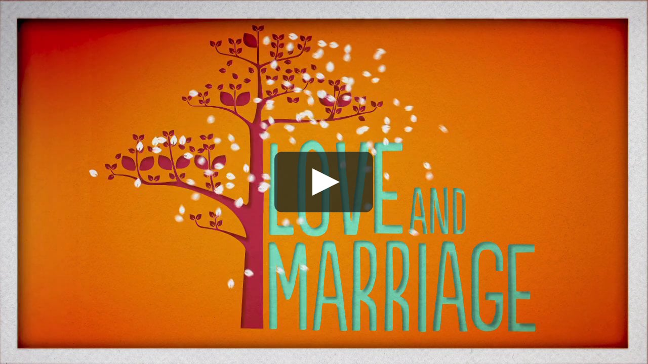 Papercraft Love and Marriage - Title Sequence