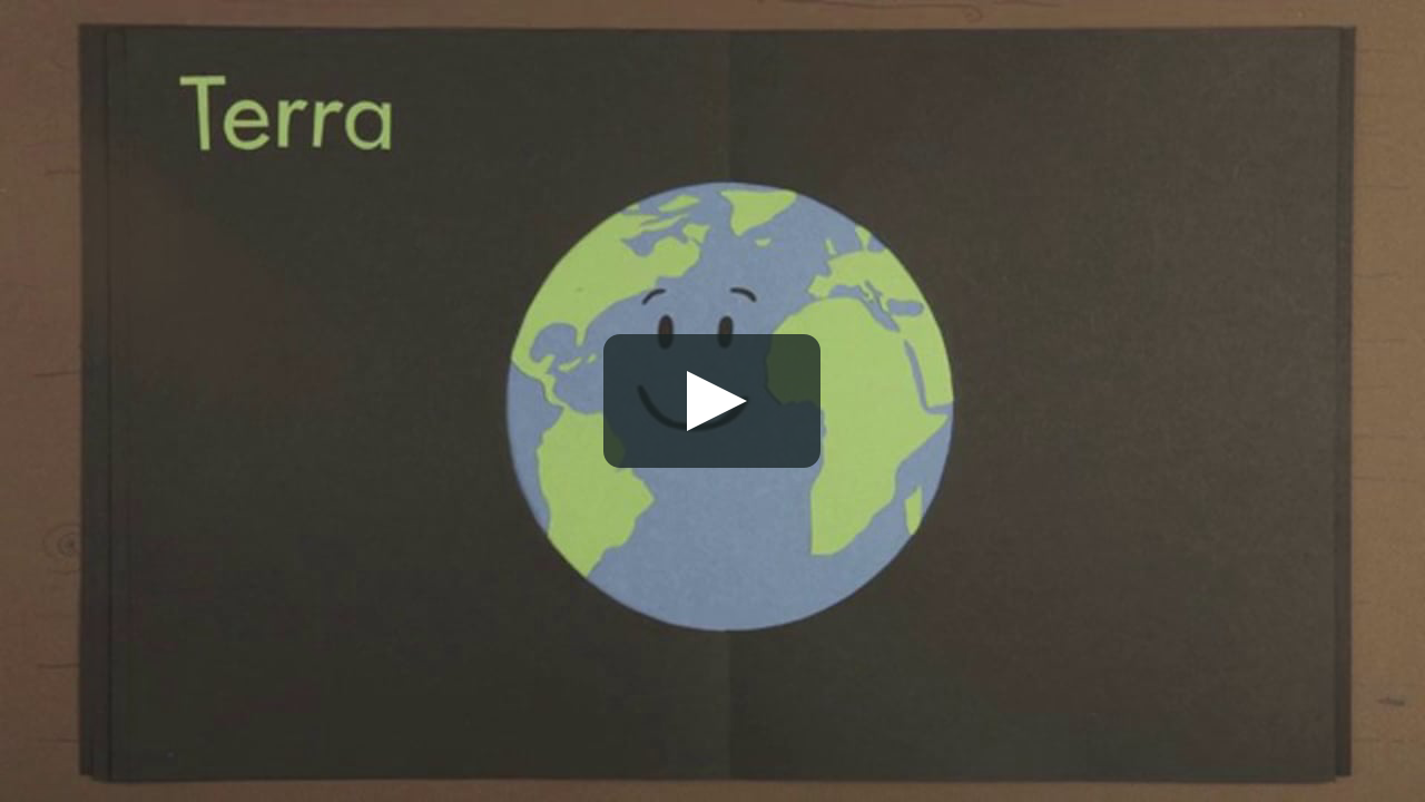 Papercraft Terra - La chimica dei pianeti