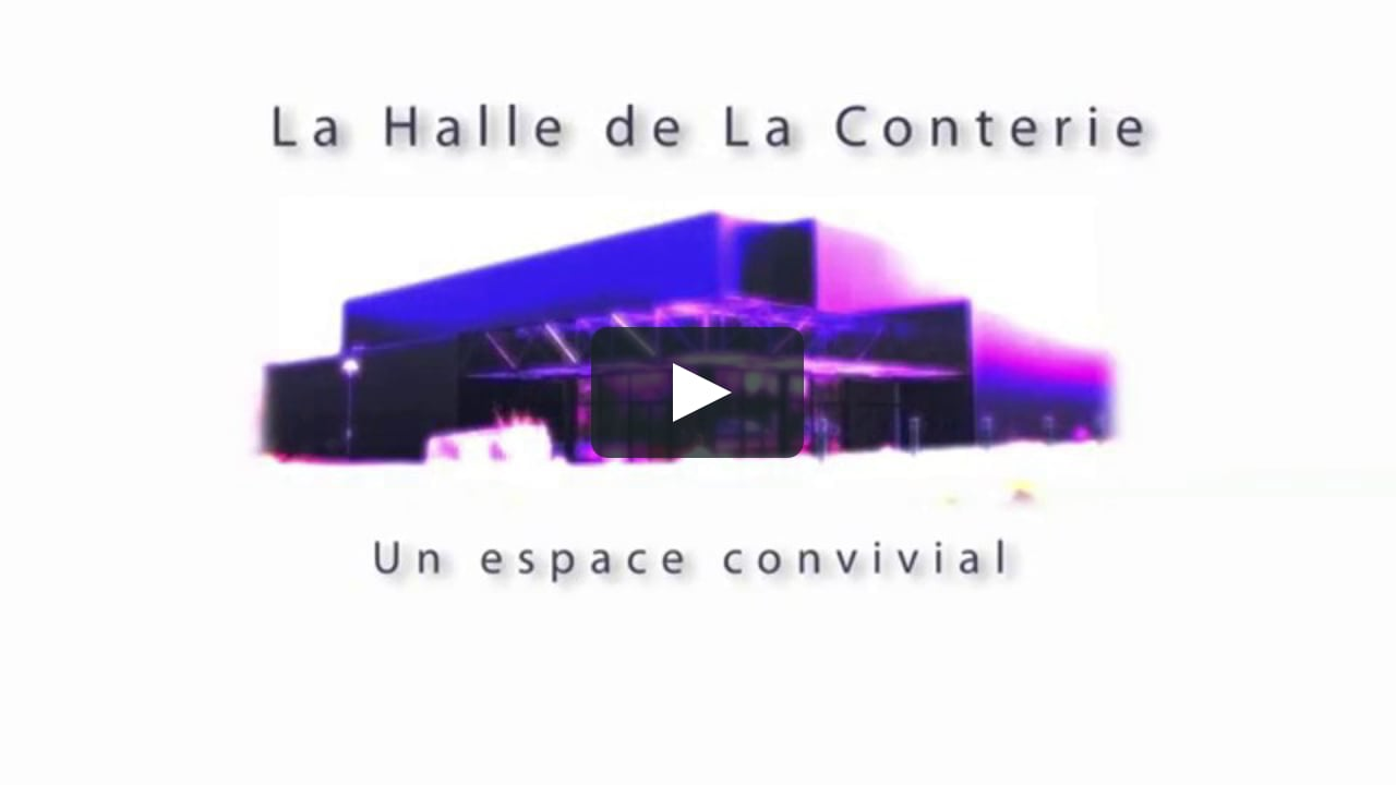 Halle de la conterie on vimeo for Piscine de la conterie
