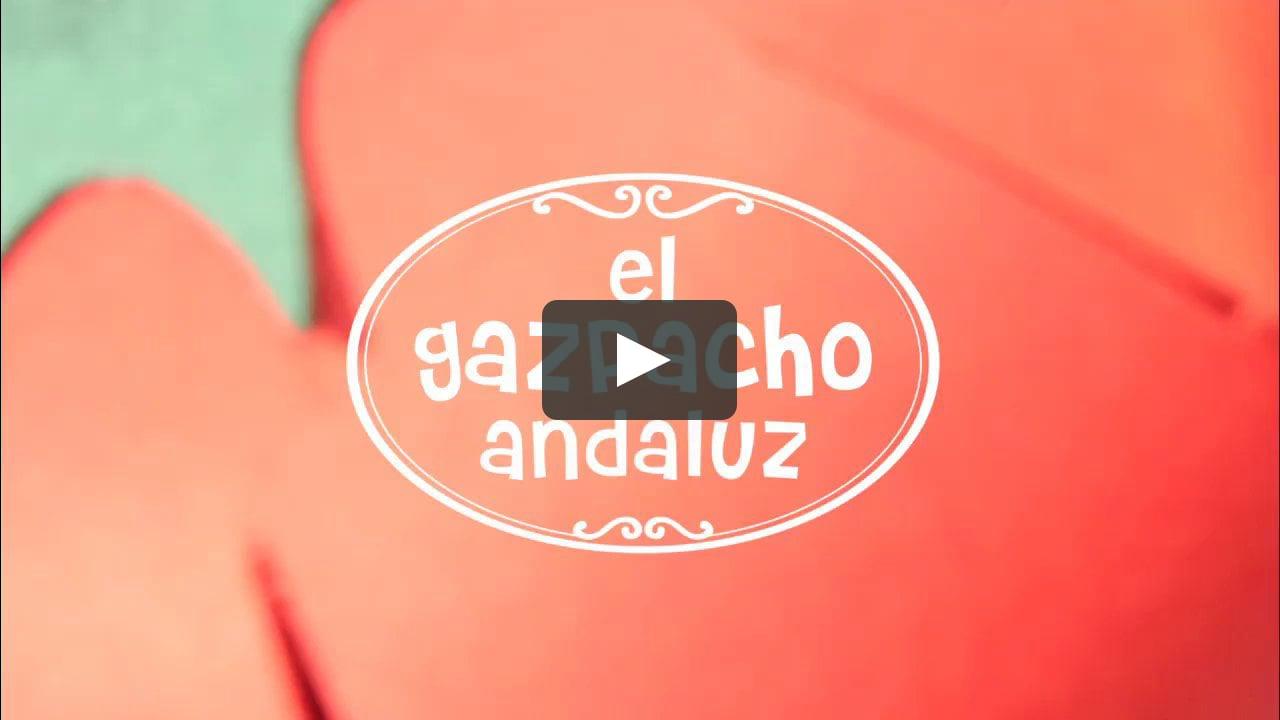 Papercraft El Gazpacho Andaluz