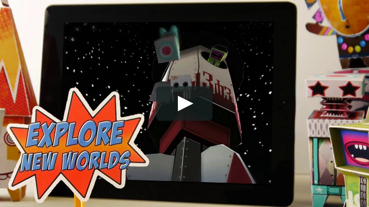 Papercraft Paper Titans trailer
