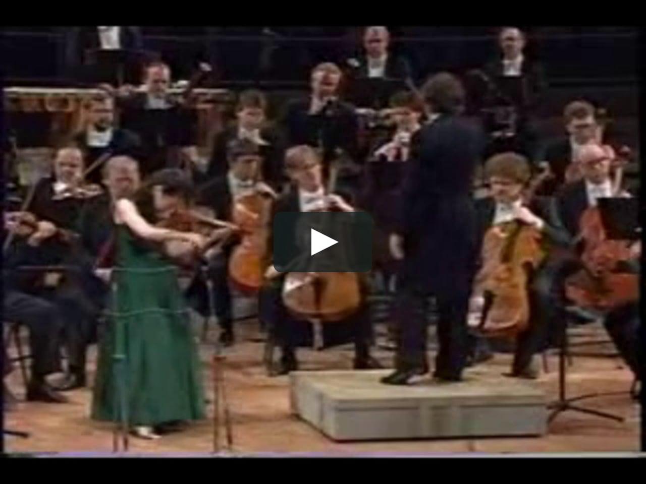 MIdori Goto plays Tchaikovsky 3rdMovement