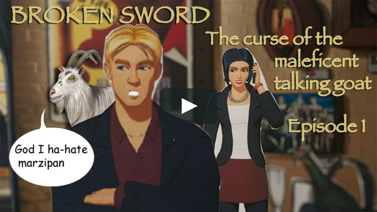 Papercraft Broken Sword: CmtG episode 1