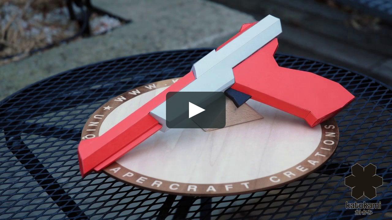 Papercraft Paper Zapper - Turnaround