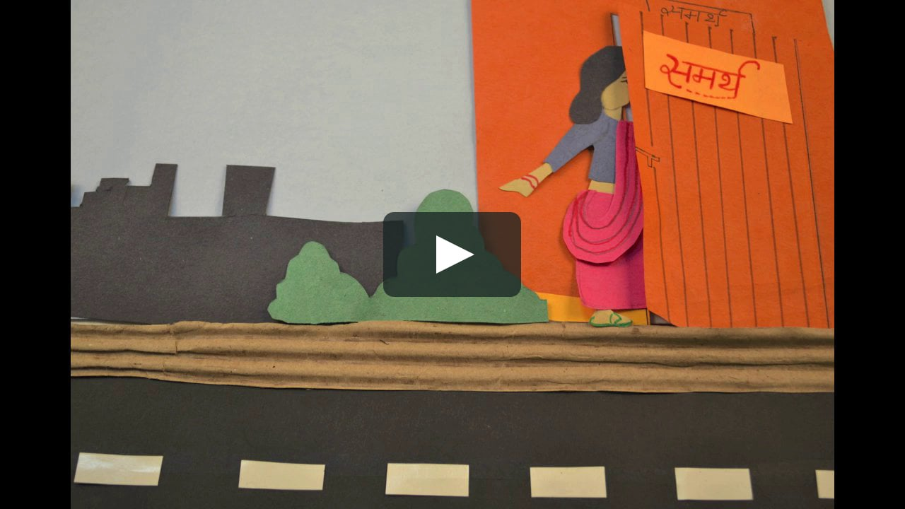 Papercraft Promotional Video for NGO