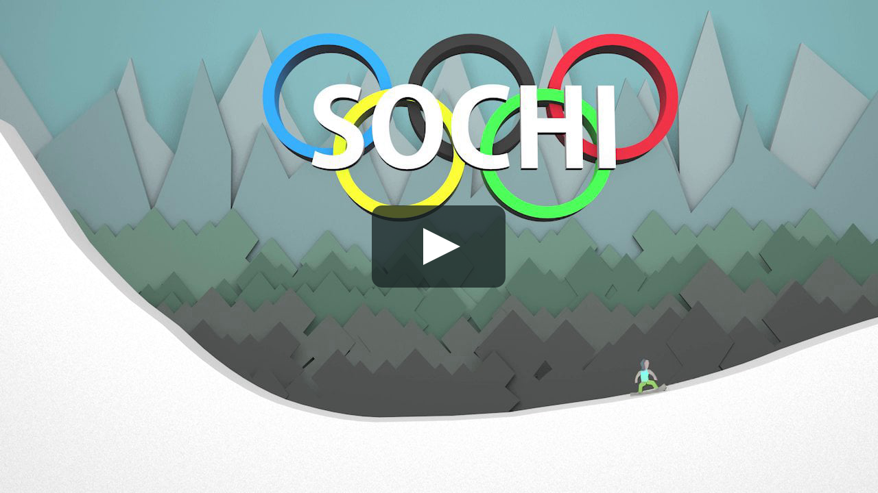 Papercraft Sochi Winter Olympics Paper Craft