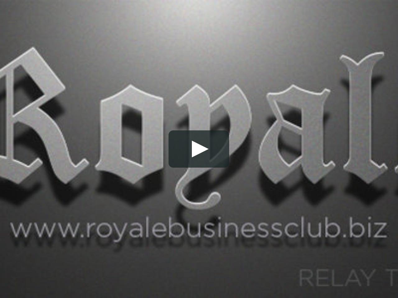royale business presentation vimeo on demand