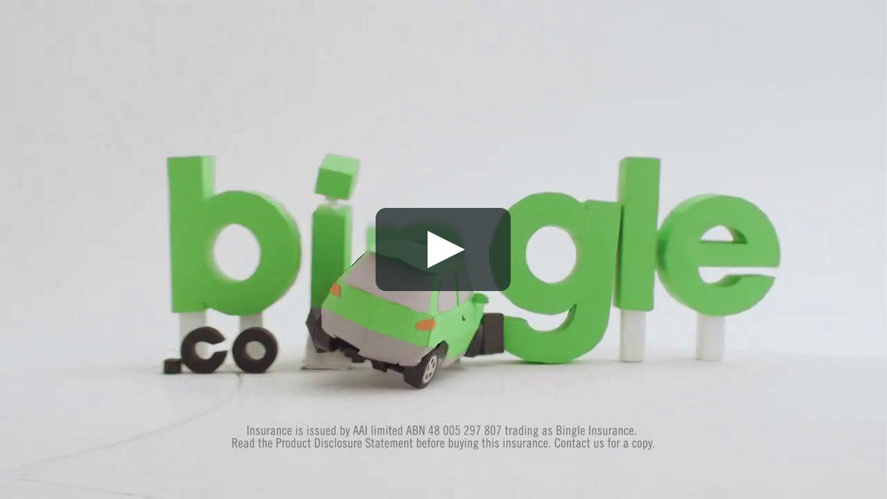 Papercraft Bingle
