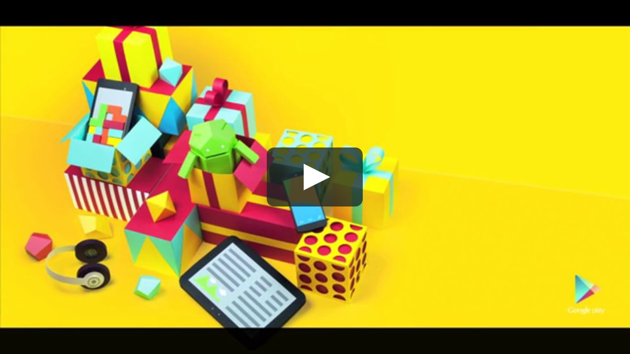 Papercraft Google Play Holidays Promo