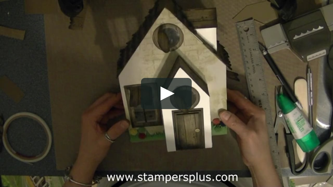 Papercraft Trailer - Summer Cottage