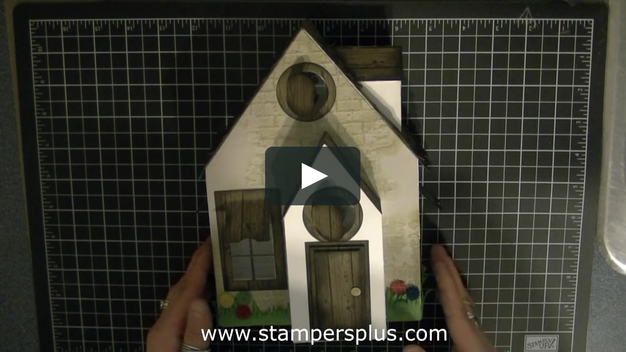 Papercraft Summer Cottage