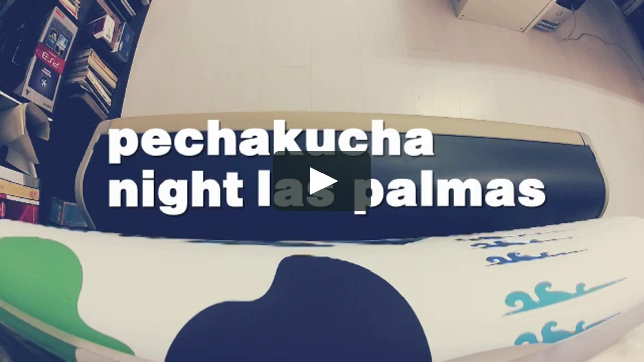 Papercraft Making Of PechaKucha Night Las Palmas