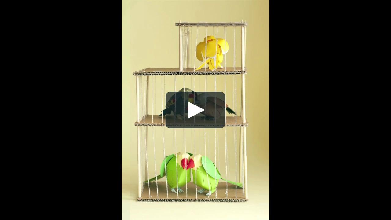 Papercraft Paper Birds