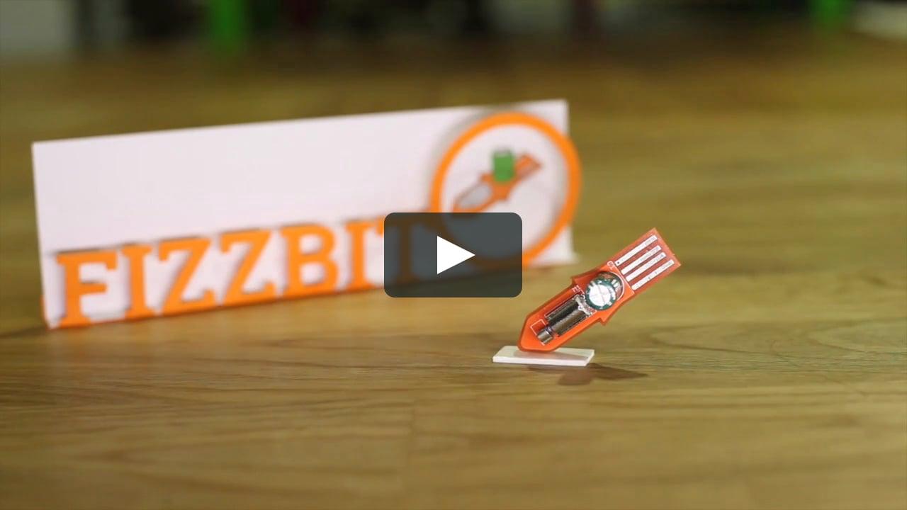 Papercraft Introducing Fizzbit