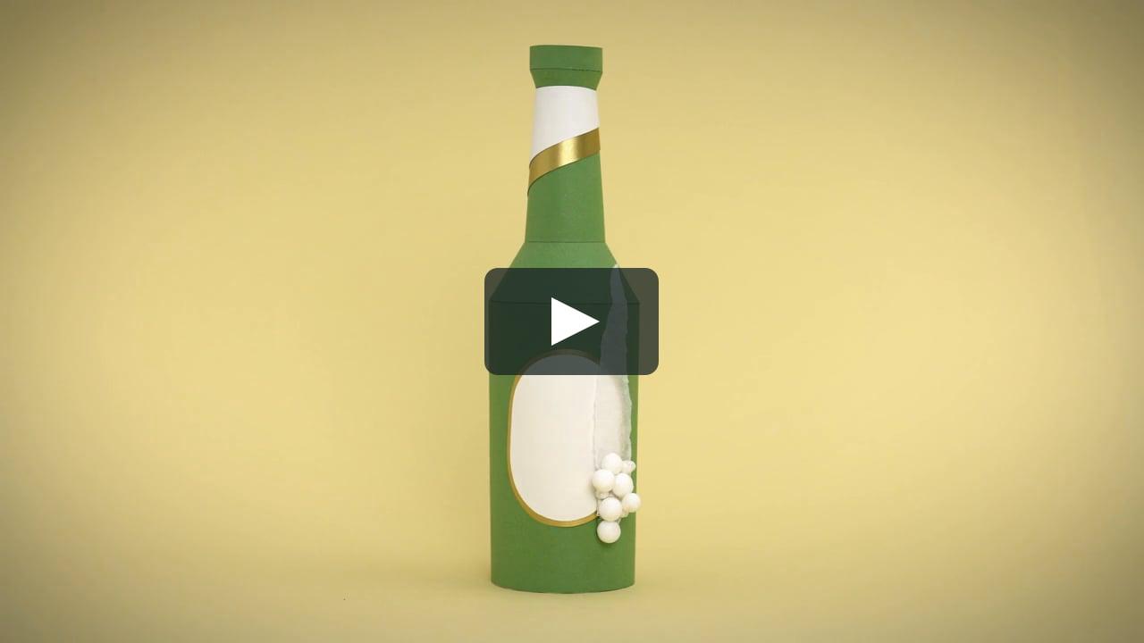 Papercraft Gastro Magazine - Paper Animation
