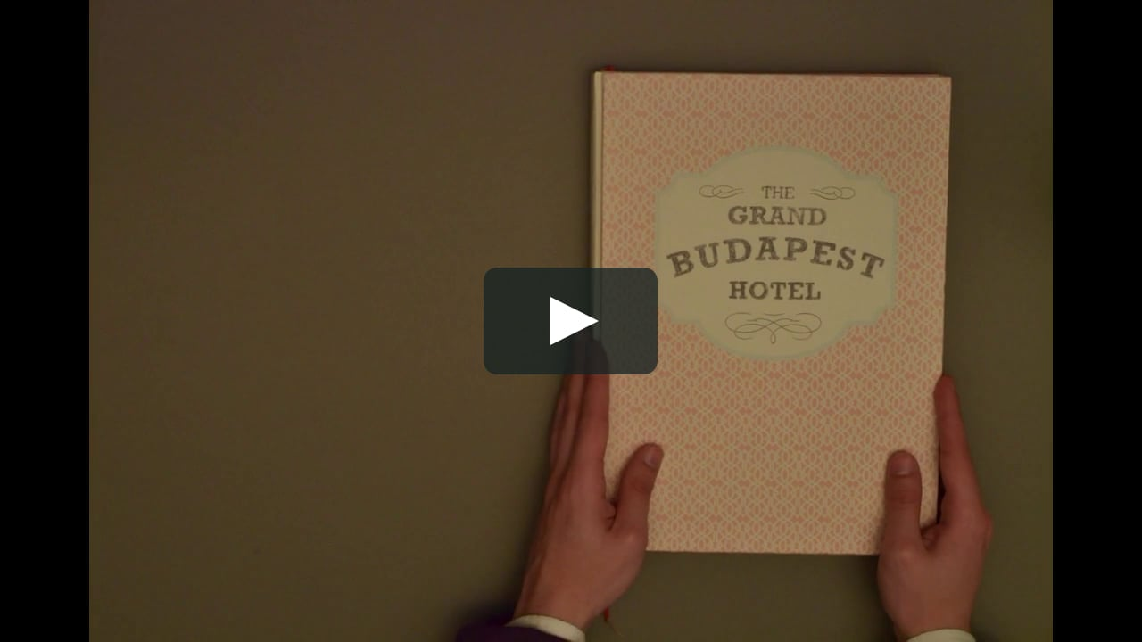 Papercraft The Grand Budapest Hotel - Opening Credits