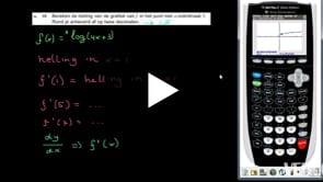 HAVO wiskunde B 2013-I opgave 15