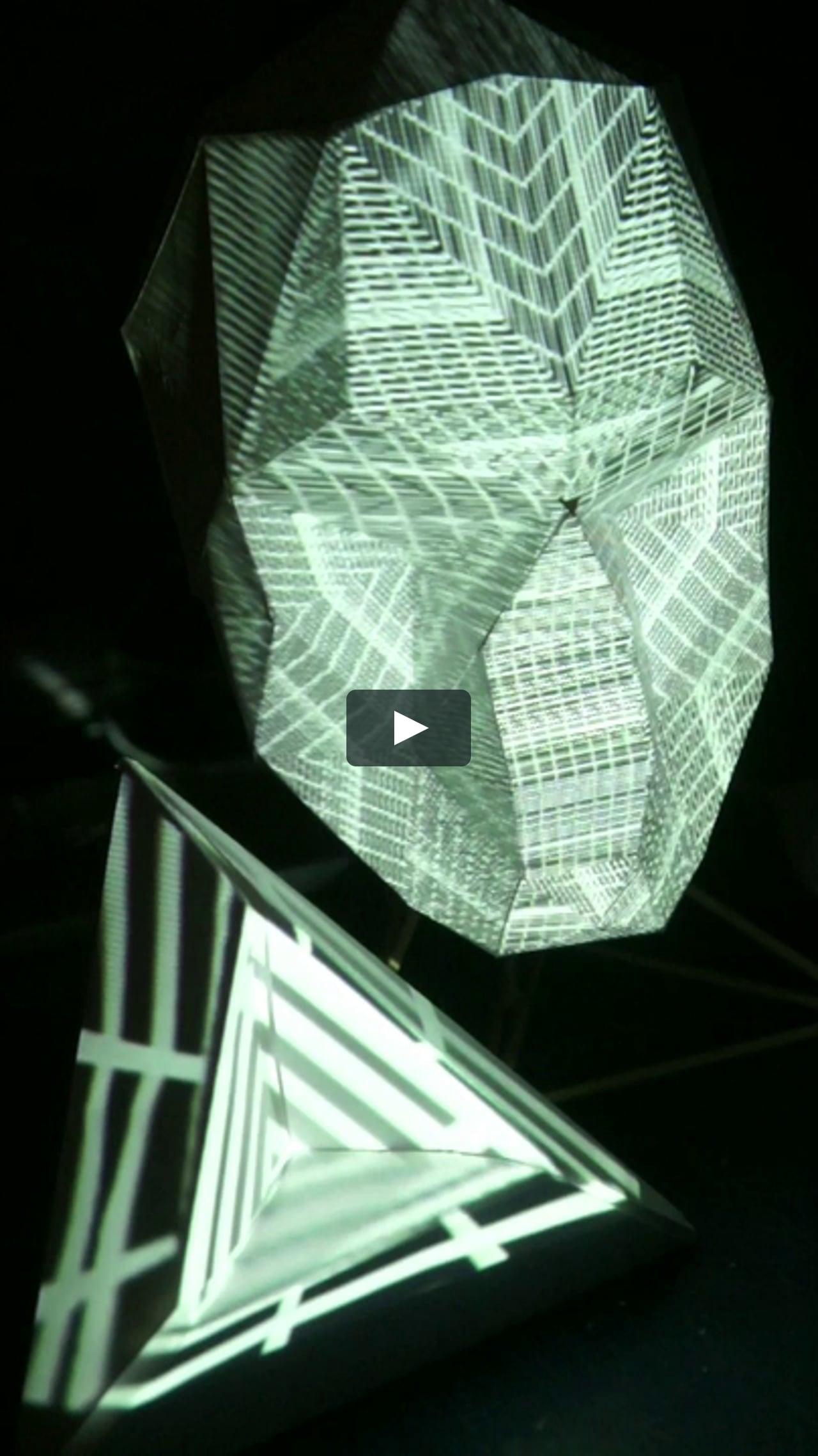 Papercraft TechnoSkull
