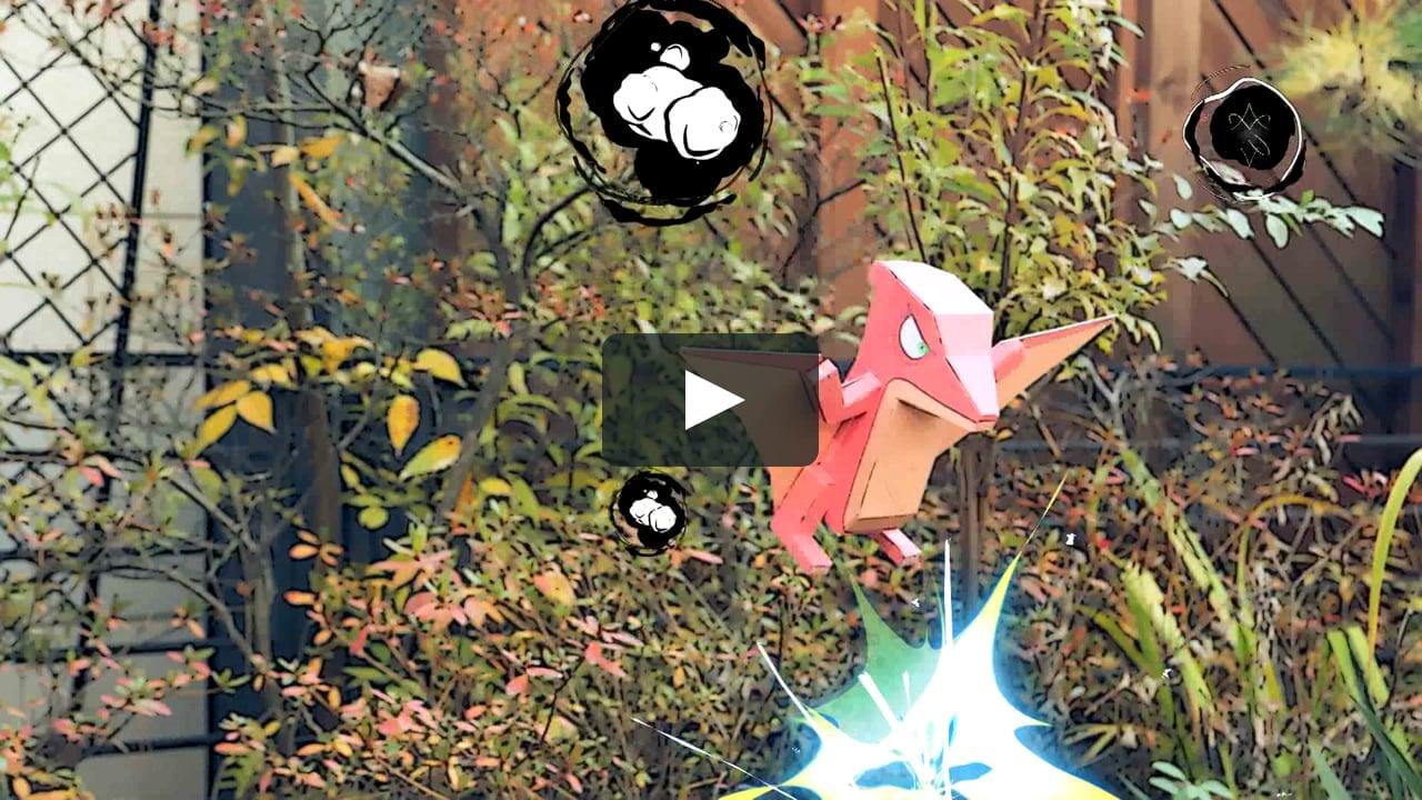 Papercraft Interactive Paper Toy - Introduce Kami Kami