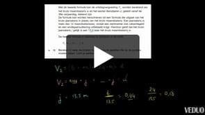 HAVO wiskunde A 2013-I opgave 12