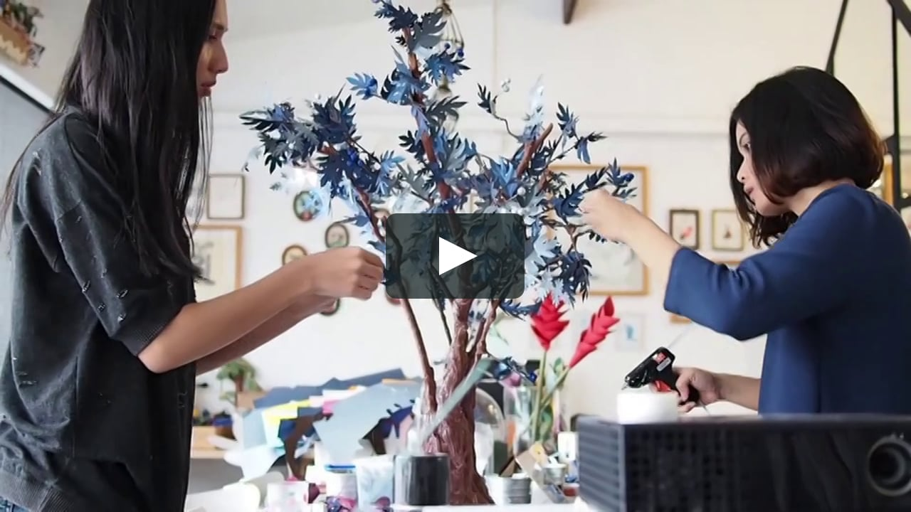Papercraft The Making of Matina Amanita