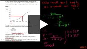 HAVO wiskunde B 2013-I opgave 13