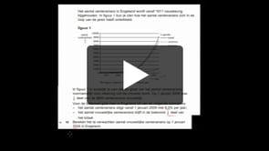 HAVO wiskunde A 2013-I opgave 16