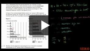HAVO wiskunde A 2013-I opgave 17