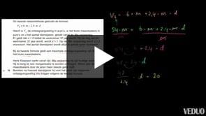 HAVO wiskunde A 2013-I opgave 10