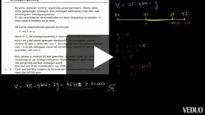 HAVO wiskunde A 2013-I opgave 9