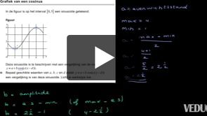 HAVO wiskunde B 2013-I opgave 16