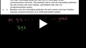 HAVO wiskunde A 2013-I opgave 2