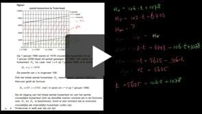 HAVO wiskunde A 2013-I opgave 4