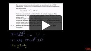 HAVO wiskunde B 2013-I opgave 3