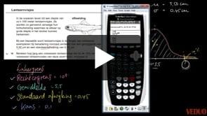 HAVO wiskunde A 2013-I opgave 18