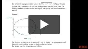 VWO wiskunde B 2013-I opgave 11