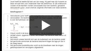 HAVO Scheikunde 2014-I opgave 1