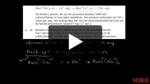 HAVO Scheikunde 2014-I opgave 14