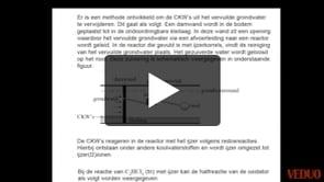 HAVO Scheikunde 2014-I opgave 18