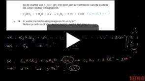 HAVO Scheikunde 2014-I opgave 19