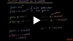 Differentiëren van Goniometrische Functies