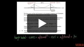 VMBO wiskunde 2014-I opgave 19