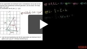 VMBO Wiskunde 2014-I opgave 14