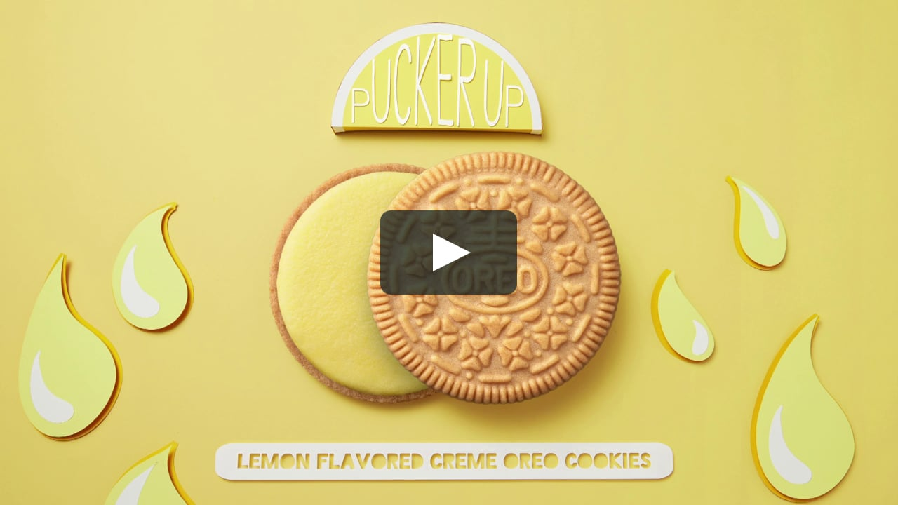 Papercraft OREO - Lemon