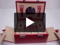 Caseta bijuterii Rubin, din piele naturala - WindRose