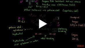 Water - Polair Molecuul en Oplosbaarheid