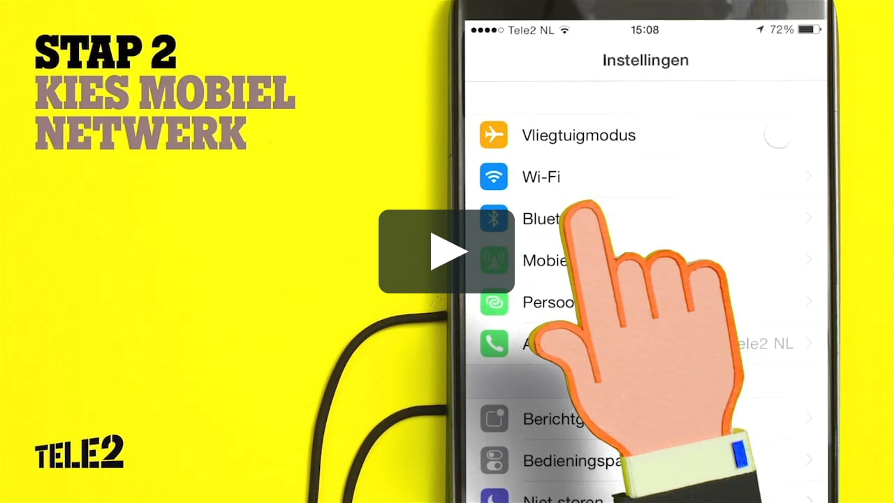 Papercraft Tele 2 4G instruction video for iOS