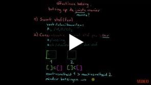 Factoren Die Reactiesnelheid Beïnvloeden Deel 1
