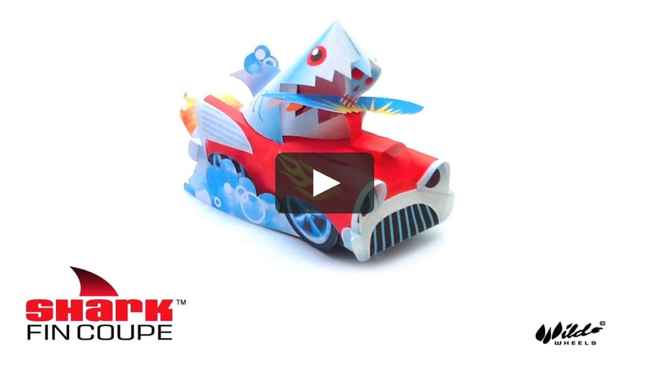 Papercraft Shark Fin Coupe 2