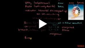 Indicatoren En Onderscheid Zuur/Base